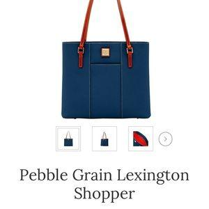 Dooney & Bourke Pebble Grain Lexington Shopper